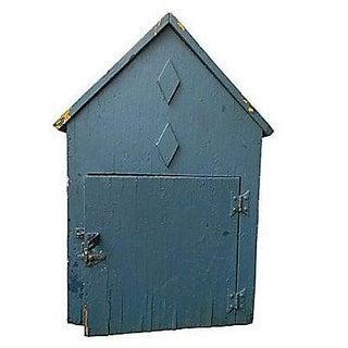 Rustic Horse Barn Storage Tack Box