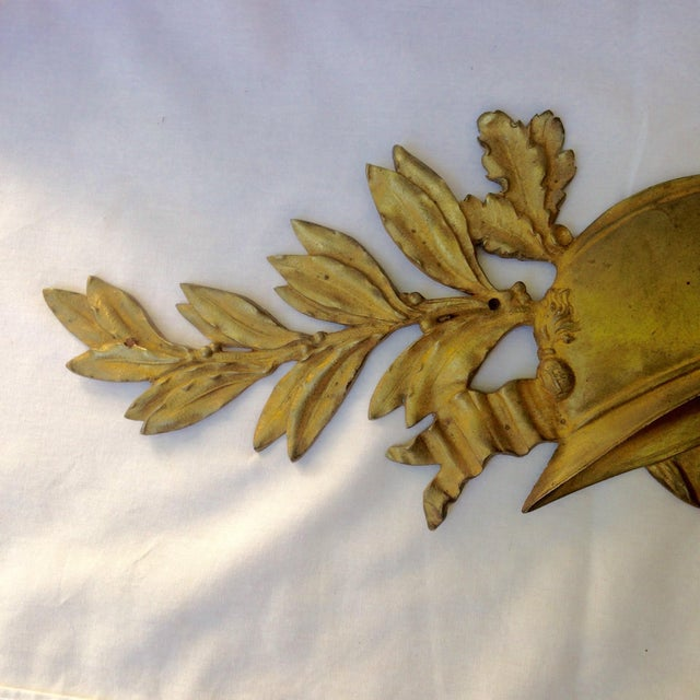 French Gilt Bronze Wall Plaque - Image 7 of 7