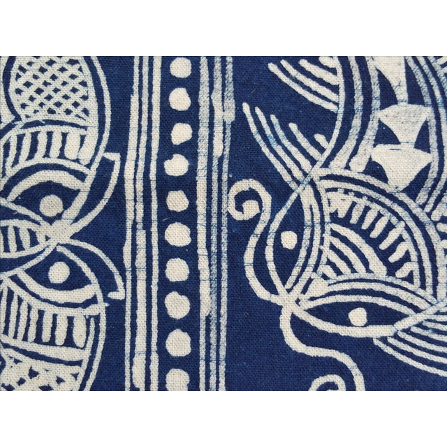 Hill Tribe Hand Batik Table Runner - Image 3 of 5