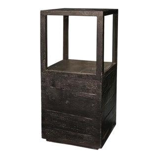 Sarreid Ltd Large Weathered Black Candlestand