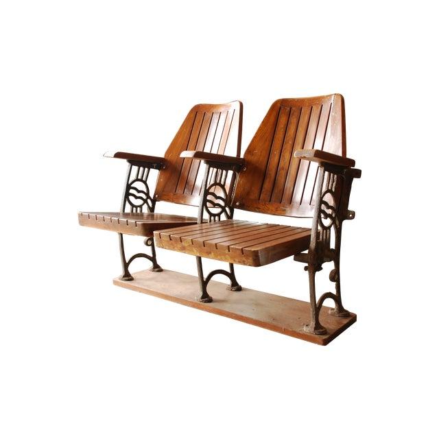 Antique Art Deco Theatre Seating - Image 1 of 3