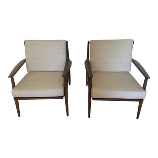 Baumritter Mid-Century Armchairs - A Pair