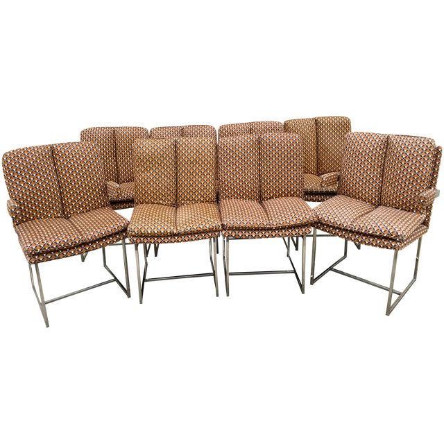 Milo Baughman ForThayer Coggin Chairs - Set of 8 - Image 1 of 11