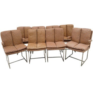 Milo Baughman ForThayer Coggin Chairs - Set of 8