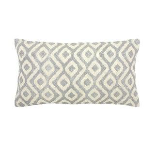 Bora Bora Small Silver Decorative Pillow