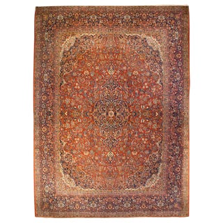 Early 20th Century Kashan Rug