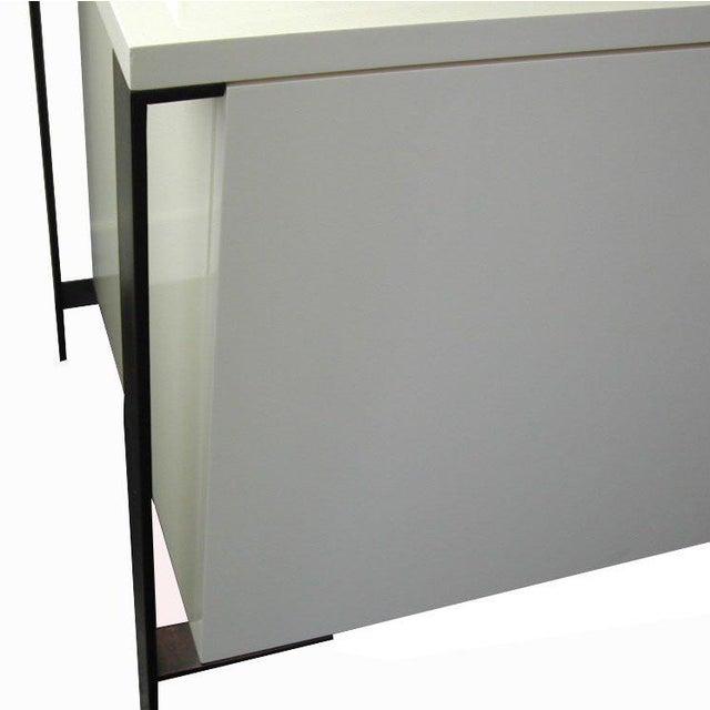 Fabry Bronze Frame Media Cabinet - Image 7 of 8