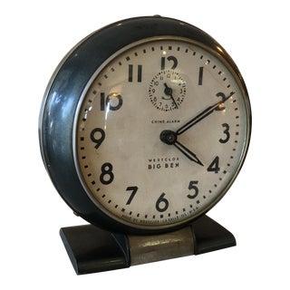 Westclox Big Ben Black Alarm Clock