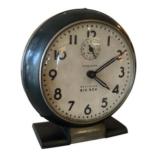 Westclox Big Ben Black Alarm Clock