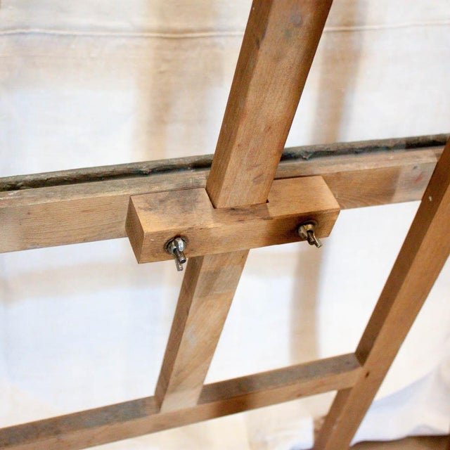 Vintage French Adjustable Painter's Easel - Image 7 of 7