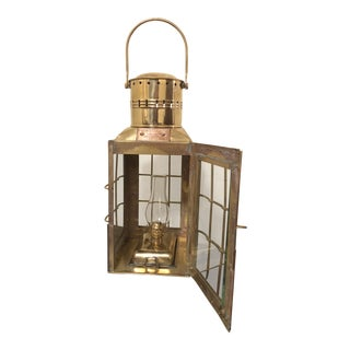 Brass Oil Lantern Chief Light, Britain, 1935