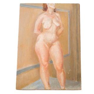 Vintage Full Figure Nude Painting
