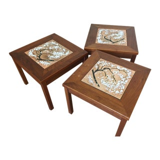 John Keal for Brown Saltman Side Tables- Set of 3