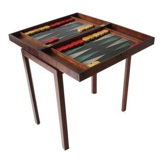 Tommi Parzinger Custom Backgammon Table