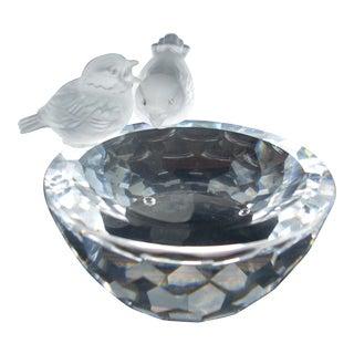 Swarovski Crystal Birdbath