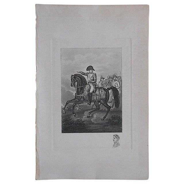 Napoleon-Antique Engraving - Image 1 of 3