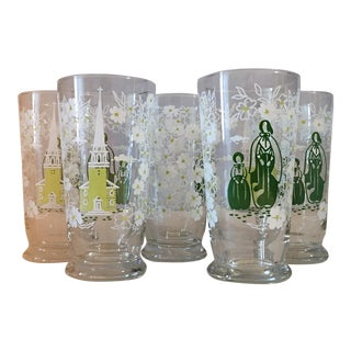 Libbey Co. Vintage Glassware - Set of 5