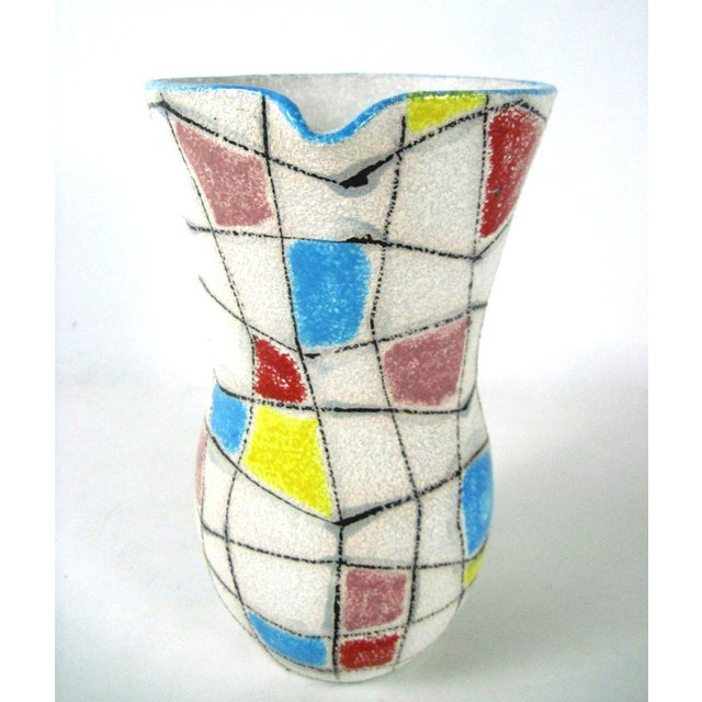 A. Londi Style Art Pottery Pitcher - Image 3 of 7