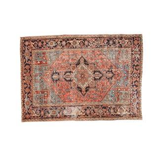 """Vintage Heriz Carpet- 6'3"""" x 9'2"""""""