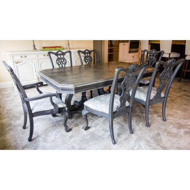 Reproduction Chippendale Dining Set - Image 8 of 11