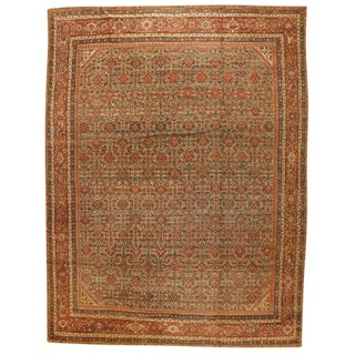 Exceptional Antique Fereghen Carpet