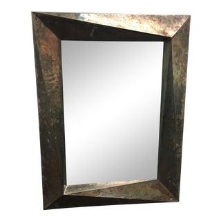 Metal Zinc Framed Wall Mirror