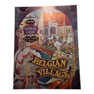1964 World's Fair Belgian Village Book