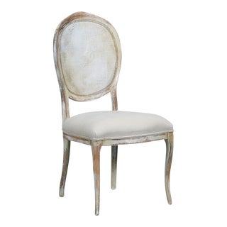 Sarreid LTD 'Abrella' Distressed Oval Back Chair