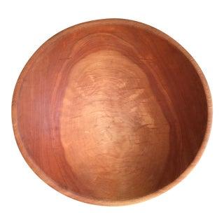 Vintage Birch Wood Bowl