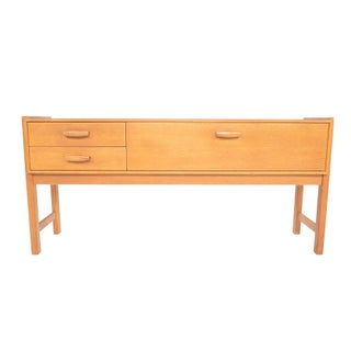 Danish Modern Oak Entry Chest