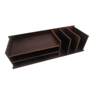 Pedersen and Hansen Rosewood Desk Organizer