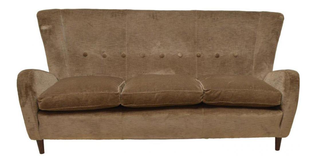 Lovely Paolo Buffa Italian Mid Century Modern Sofa, Circa 1950