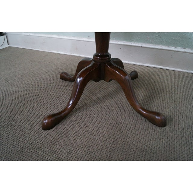 Kittinger Solid Mahogany Extension Dining Table - Image 4 of 10