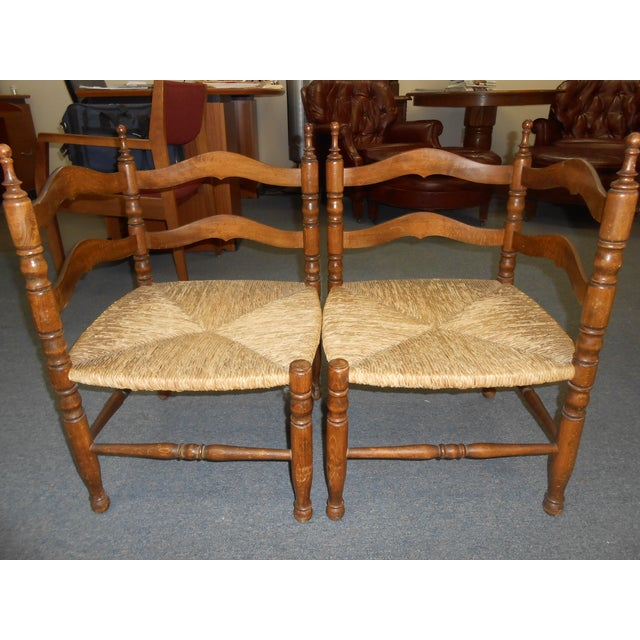 Corner Chairs - A Pair - Image 2 of 9