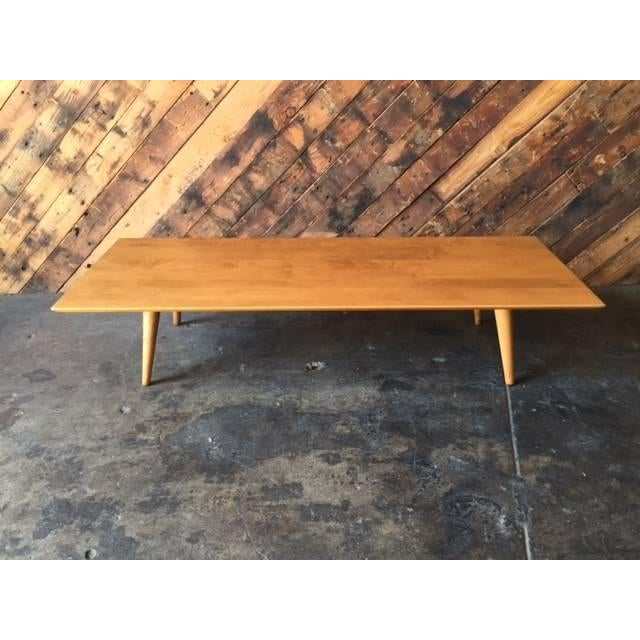 Mid Century Paul McCobb Maple Coffee Table - Image 2 of 5