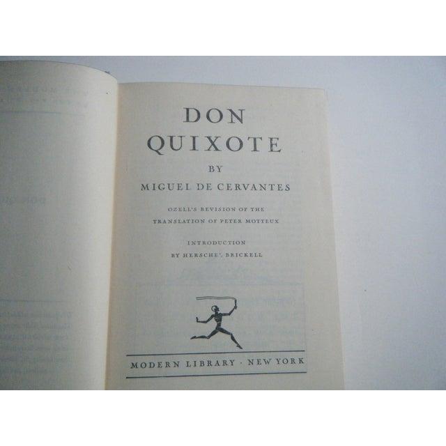 Don Quixote Vintage Classic Hardcover Book - Image 3 of 4