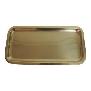 Polished Brass Vanity Tray