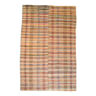 Vintage Turkish Rag Rug- 6'4'' x 10'3''