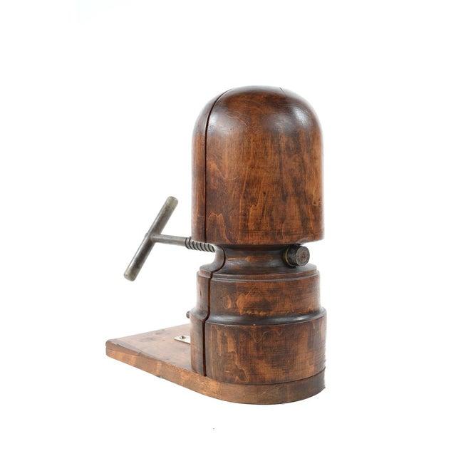 Antique Victorian Mahogany Hat Stretcher - Image 8 of 9