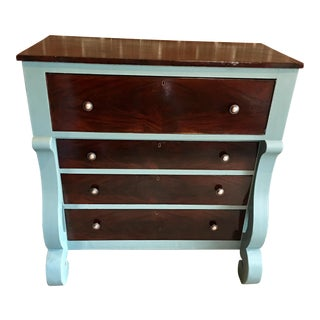 Regency Antique Walnut Dresser