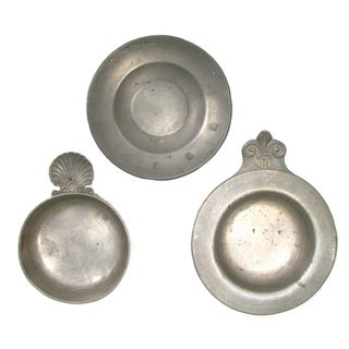 Continental Pewter Collection - Set of 3