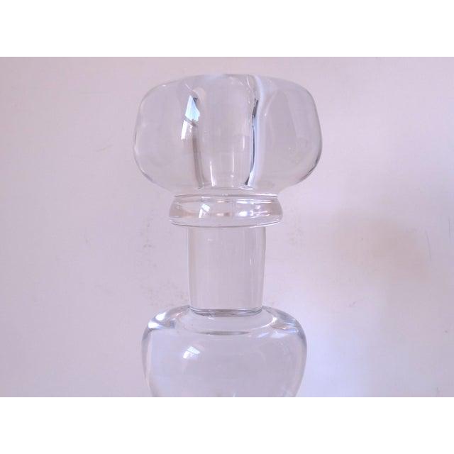 Scandinavian Glass Candle Sticks - A Pair - Image 4 of 7