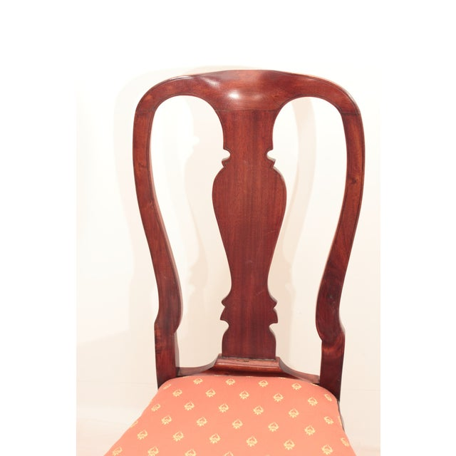 Queen Anne Accent Chair - Image 4 of 5