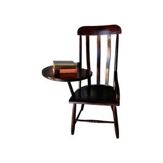 Early New England Windsor Writing Chair