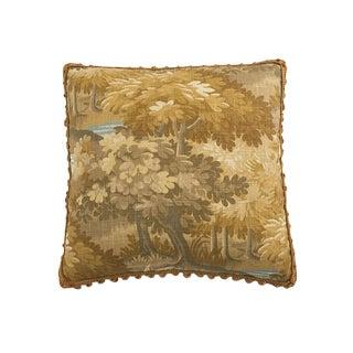 Whidbey Landscape Linen Pillow