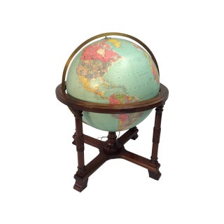 "32"" Replogle ""The Diplomat"" Floor Globe"