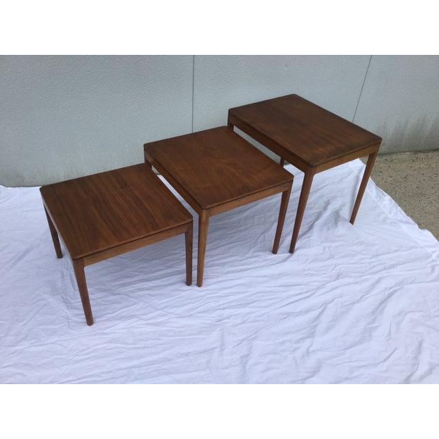 1960's Modern Drexel Declaration Nesting Tables - Image 3 of 9