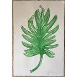 """Image of Original Philodendron Watercolor-15"""" X 22""""-Signed"""