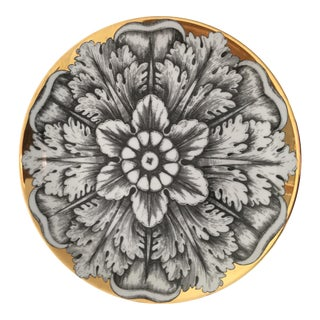 Fornasetti Plate From the Rosoni Series