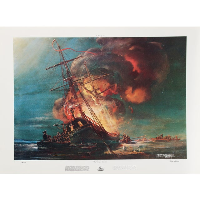 Kipp Soldwedel Lithograph - the Gaspee Incident - Image 1 of 2